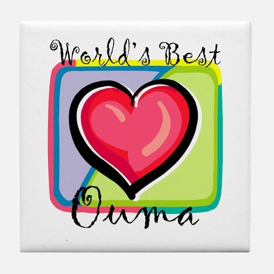 WB Grandma [Afrikaans] Tile Coaster