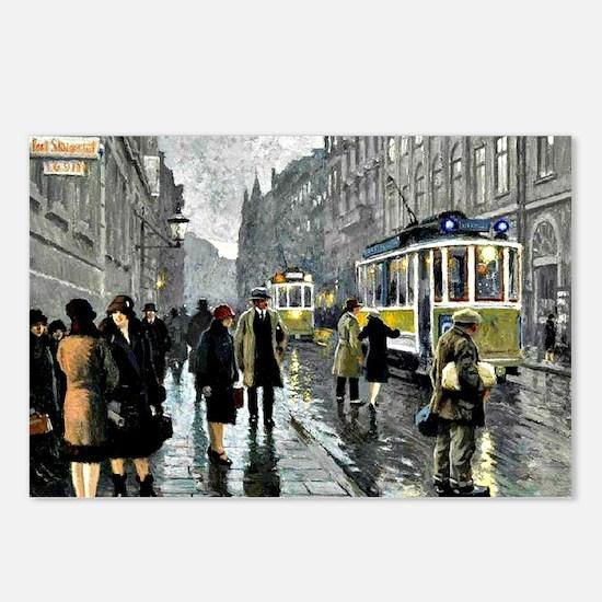 Bredgade, Copenhagen - Pa Postcards (Package of 8)