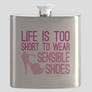Sensible Shoes Flask