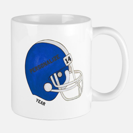 Football Helmet Mug