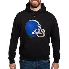 Football Helmet Hoodie (dark)