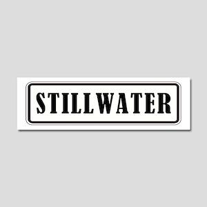 STILLWATER Car Magnet 10 x 3