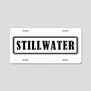 STILLWATER Aluminum License Plate