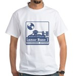 Lunar Engineering Division White T-Shirt