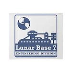 Lunar Engineering Division Throw Blanket