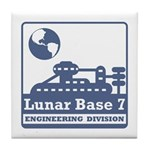 Lunar Engineering Division Tile Coaster