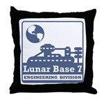 Lunar Engineering Division Throw Pillow