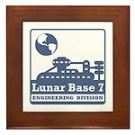 Lunar Engineering Division Framed Tile
