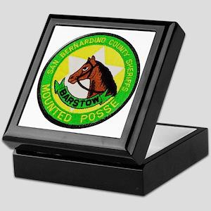 Barstow Sheriffs Posse Keepsake Box