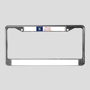 Montana Motto #6 License Plate Frame