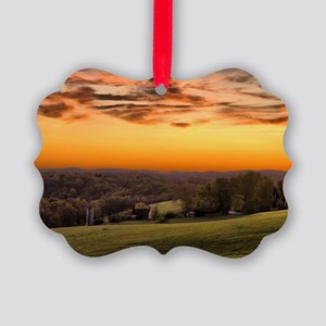 Ohio Country Picture Ornament