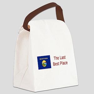 Montana Motto #6 Canvas Lunch Bag