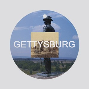 ABH Gettysburg Round Ornament