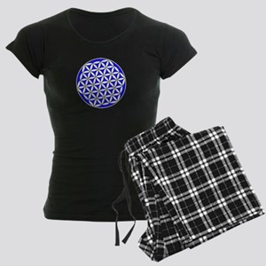 Flower Of Life Blue Pajamas