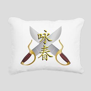 Wing Chun Bart Cham Do Rectangular Canvas Pillow