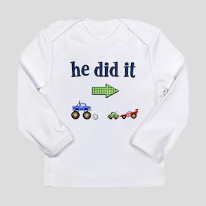 hediditright copy Long Sleeve T-Shirt