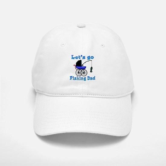 Lets go fishing buggy Baseball Baseball Cap