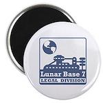 Lunar Legal Division Magnet