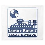 Lunar Legal Division King Duvet