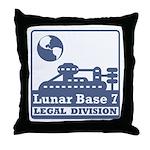Lunar Legal Division Throw Pillow