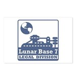 Lunar Legal Division Postcards (Package of 8)