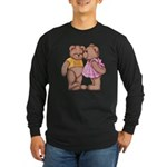 Teddy Love Long Sleeve Dark T-Shirt