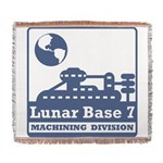 Lunar Machining Division Woven Blanket