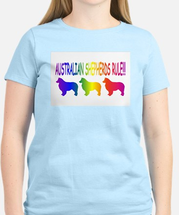 Australian Shepherd Dog Women's Light T-Shirt