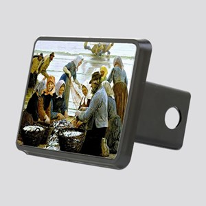 Kroyer - Women and Fisherm Rectangular Hitch Cover