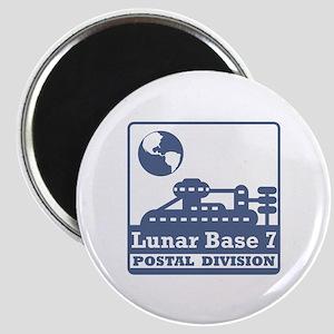 Lunar Postal Division Magnet