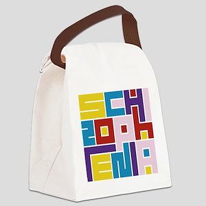 Schizophrenia Maze Canvas Lunch Bag