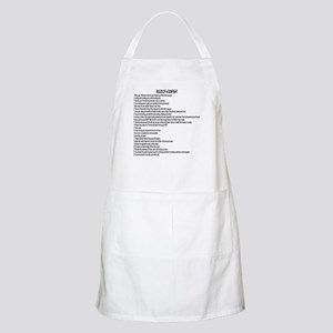 23 Rules Of A Gun Fight Apron