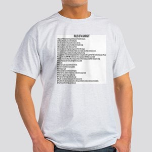 23 Rules Of A Gun Fight Light T-Shirt