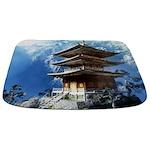 Buddhist Zen Temple Bathmat