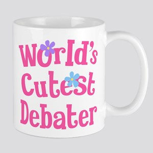 Worlds Cutest Debater Mug