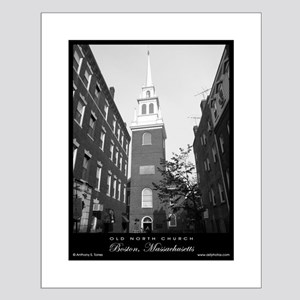Christ / Old North Church - Small Poster