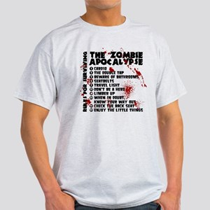 Zombie Apocalypse Rules Light T-Shirt