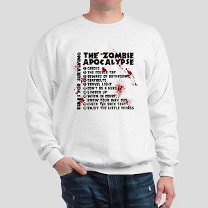 Zombie Apocalypse Rules Sweatshirt