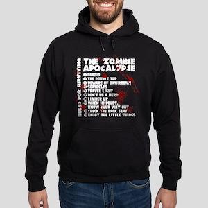 Zombie Apocalypse Rules Hoodie (dark)