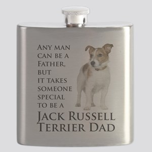 Jack Russell Dad Flask