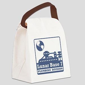 Lunar Plumbing Division Canvas Lunch Bag