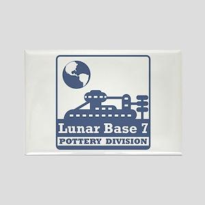 Lunar Pottery Division Rectangle Magnet