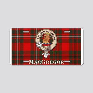 MacGregor Design Aluminum License Plate