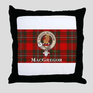 MacGregor Design Throw Pillow