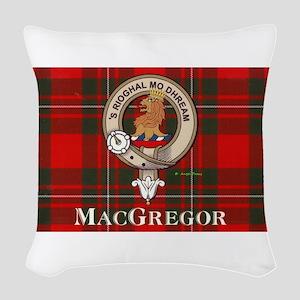 MacGregor Design Woven Throw Pillow