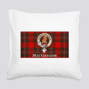 MacGregor Design Square Canvas Pillow