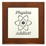 Physics Addict Framed Tile