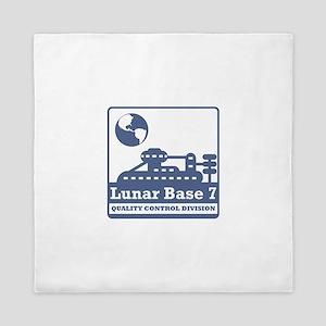 Lunar Quality Control Division Queen Duvet