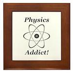 Physics Addict Framed Tile