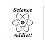 Science Addict Small Poster